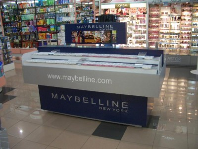 Maybelline – Corte inglés Sanchinarro, Madrid