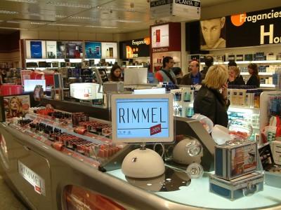 Rimmel – Corte Inglés Plaza Catalunya, BCN